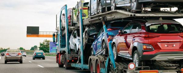 transporteur voitures